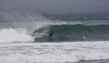 Surfing Wipeout Ireland