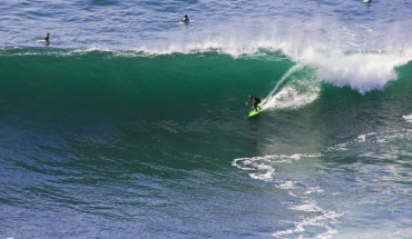 Surfing at Aileens