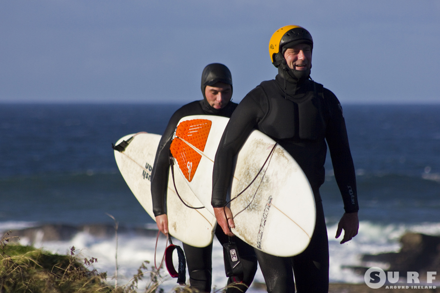 Mullaghmore Surfers