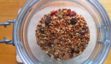Fuel For Surfers-Sticky Ginger and Maple Granola
