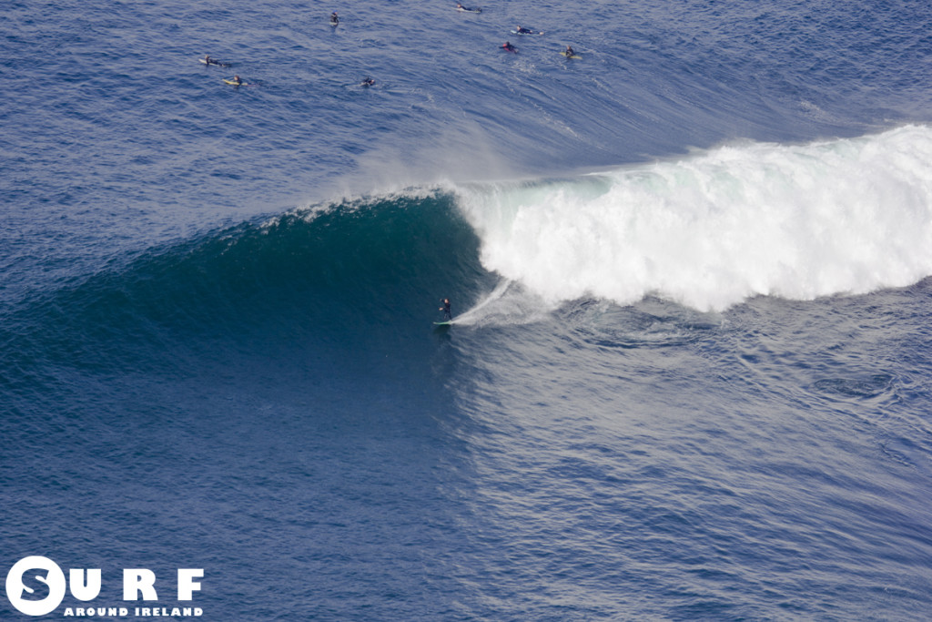 Fergal Smith Surfing Ireland