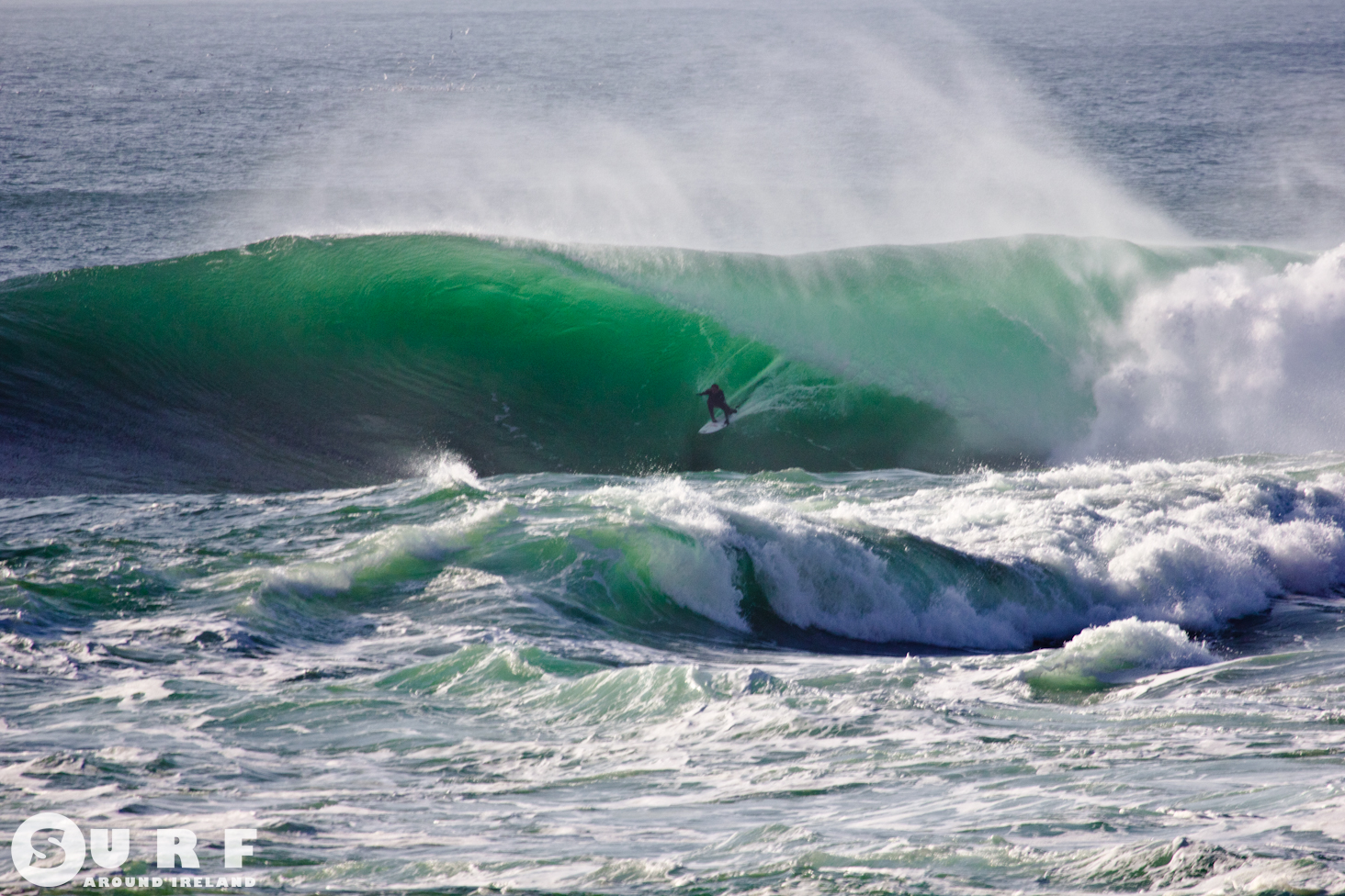 Surfing Cliffs of Moher