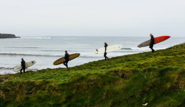 Surfing Lahinch Cover 1